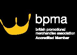 Associate member of the BPMA: British Promotional Merchandise Association